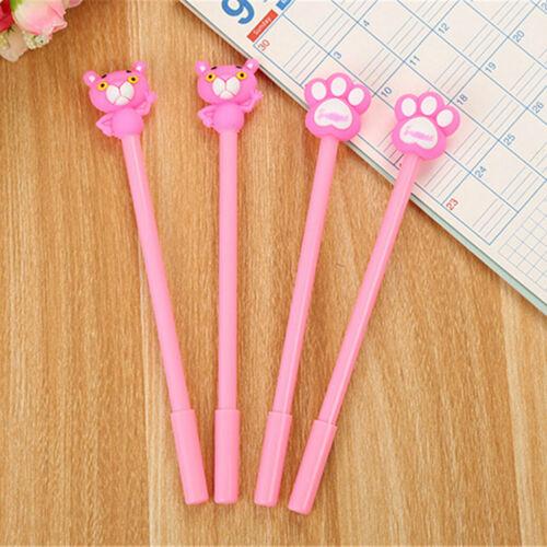 6pcs Cute Cartoon Kawaii Colorful Tiger Palm Gel Ink Ball Pen School Gifts