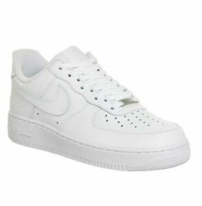 2021 NK AIR FORCE 1 '07 Low 315122-111 Bianco Sneaker Scarpe da ginnastica /*