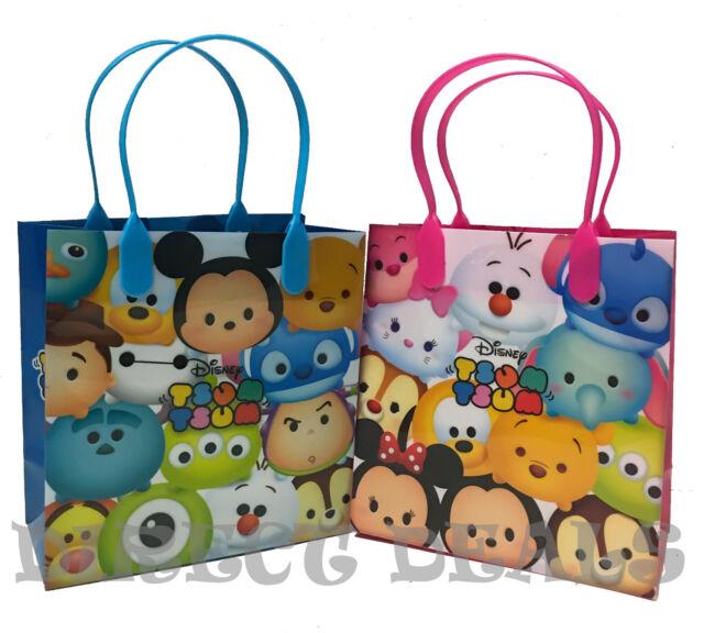12PCS  Disney Tsum Tsum Goodie Bag Party Supply Favor Filler Gift Bag
