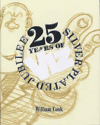 """""""AS NEW"""" Fulchester Industries, William Cook, 25 Years of Viz - Silver Plated Ju"""