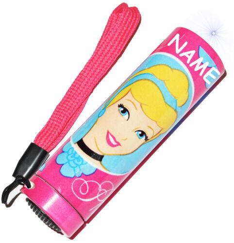 "for Children /& He Sturdy Metal Mini Flashlight LED /""Disney Princess/"""