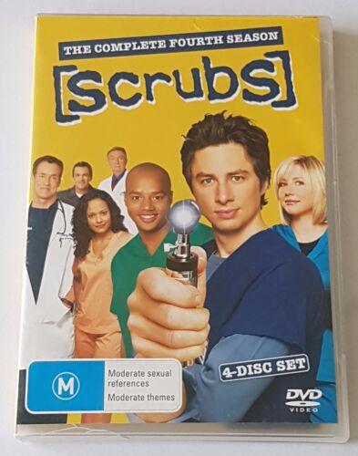 1 of 1 - Scrubs : Season 4 DVD, 2006, 4-Disc Set (#DVD01256)