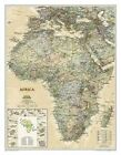 Africa by National Geographic Maps (Sheet map, rolled, 2009)