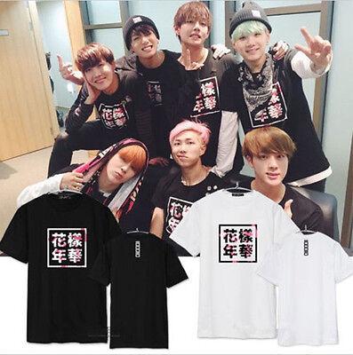 KPOP BTS Jung Kook T-shirt Bangtan Boys In The Mood For Love Tshirt Unisex Tops