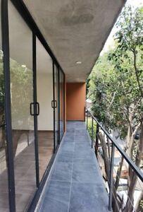 Edificio exclusivo, solo cuatro departamentos en Ernestina Larrainzar