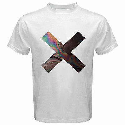 English Indie Pop Group The xx Coexist Logo Men's White T-Shirt Size S to 3XL