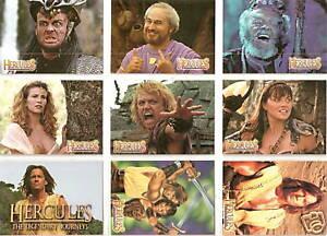 Hercules-Topps-complete-90-card-base-set-Xena