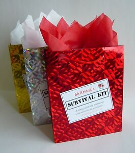 Image Is Loading GIRLFRIEND SURVIVAL KIT Novelty Birthday Gift Fun Christmas
