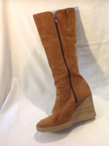 Maddison Size 38 Suede High Boots Brown Knee wYqrXnxq6p
