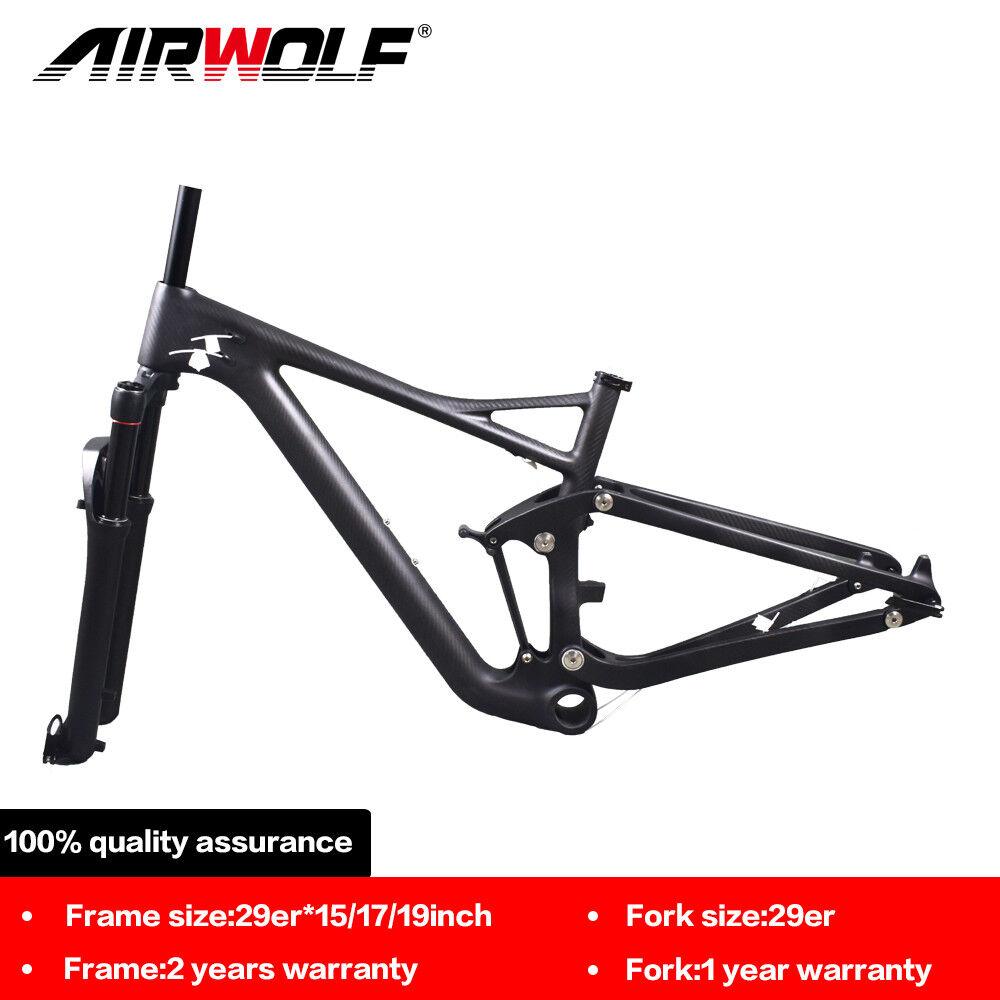 29er voiturebon suspension mtb frame mountain bike enduro frameset aluminium fork