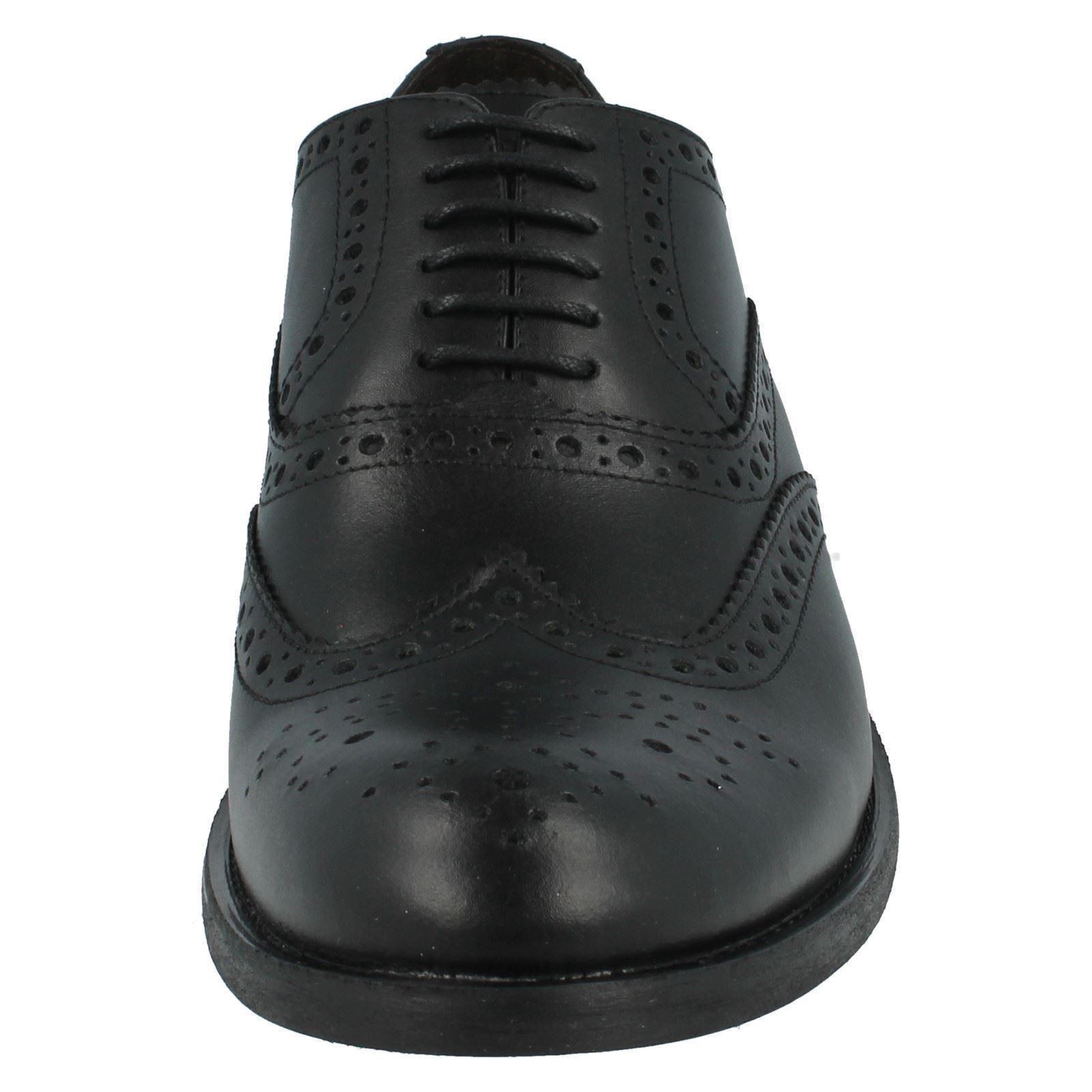 Uomo Base Up London Waxy Leather Lace Up Base Shoes  Walnut MTO 72092e