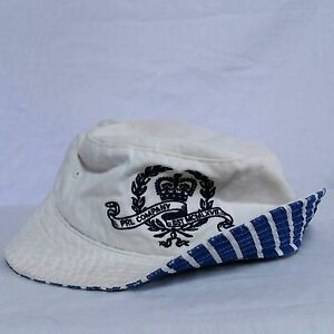 b7e1f497ce1ad VTG Polo Ralph Lauren Bucket Hat Crest Crown Spell Out 90s Sport ...