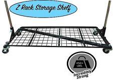 Only Hangers Heavy Duty Storage Base Shelf For Z Racks Black