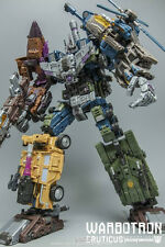 Transformers 3D Party Warbotron WB01 Not-Bruticus Complete Set