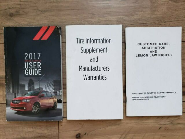 2019 Dodge Grand Caravan Owners Operators Manual User Manual Guide