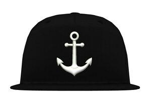 Cap-Kappe-034-ANKER-034-Cool-Snapback-xo-king-era-hipster-yacht-boat-cro-street-sea