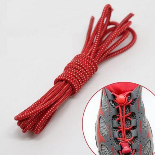1 Paar Schnürsenkel Gummi Gummischnürsenkel Elastisch Stopper Jogging Fitness