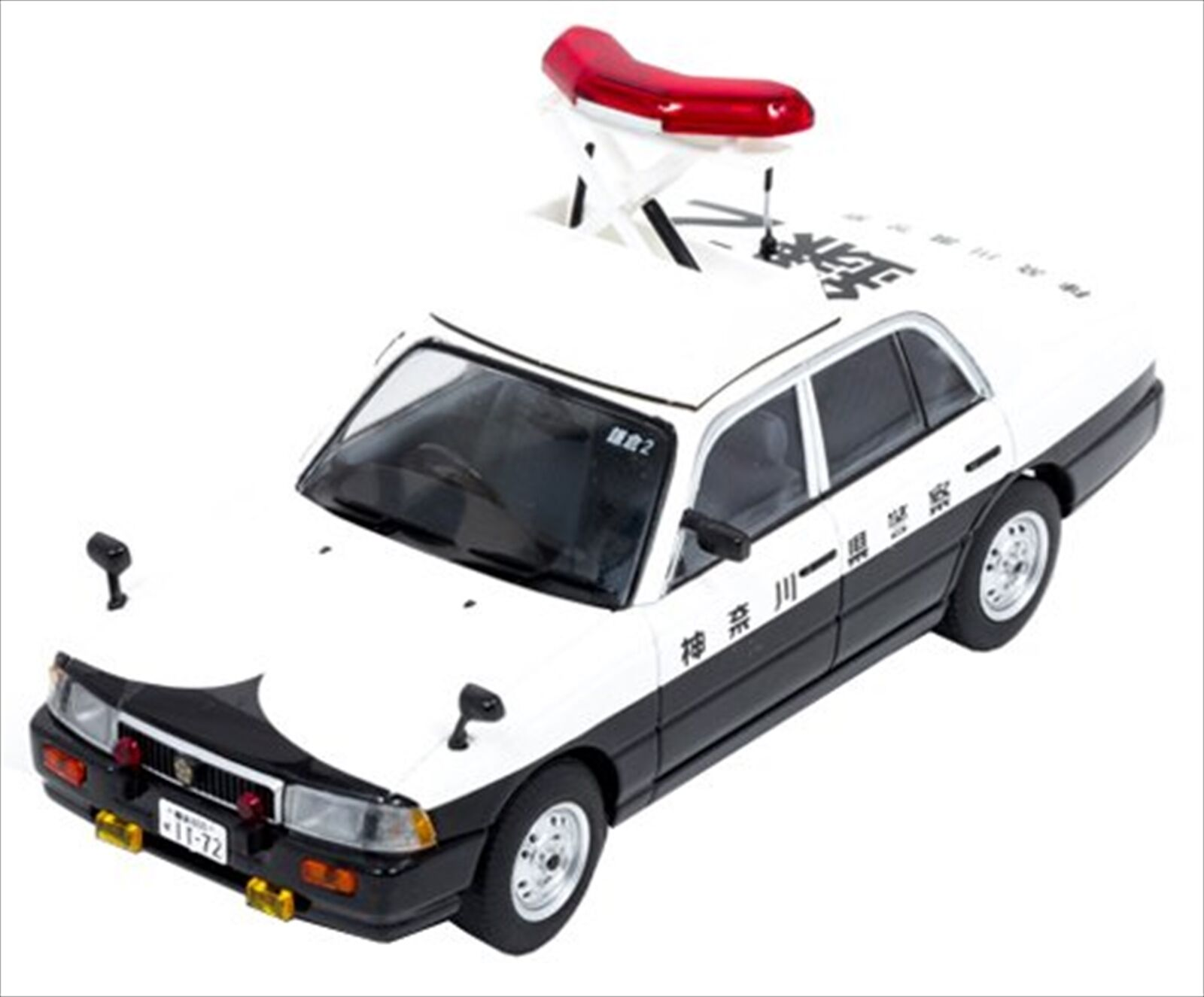 RAI'S 1 43 Nissan Crew 1995 Police Car (Elevator UP Specification) H7439509