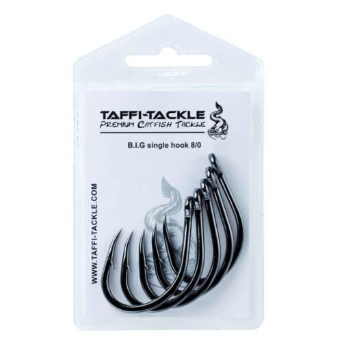 TAFIA Tackle hameçon poisson-chat pêche-B.I.G SINGLE hook #8//0