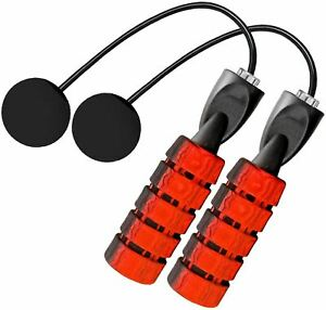 Adjustable-Ropeless-Jump-Rope-Cordless-Wireless-Count-Skipping-Weighted-Fitness
