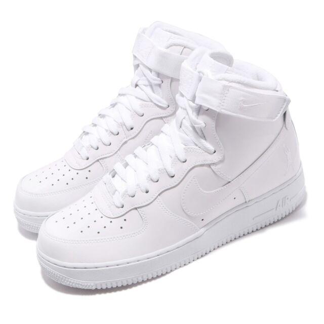 Nike Air Force 1 High Retro QS *Sheed* (White White White)
