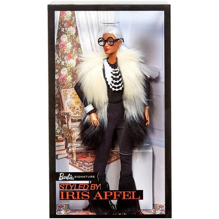 2018 Barbie Collector Iris afel Imitación Piel Muñeca Barbie Aa FWJ27-Nuevo
