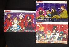 + Wonderful Wonder World 1, 2, 3 Manga Set (QuinRose, Soumei Hoshino) TOKYOPOP