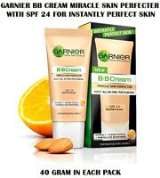 6 Pack Of Garnier Bb Cream Miracle Skin Perfecter With Spf 24 Daily All In One
