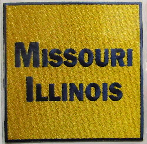 MISSOURI ILLINOIS ~ Willabee /& Ward UNION PACIFIC RAILROAD PATCH COLLECTION CARD