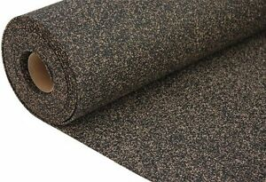 Details about RUBBER - CORK UNDERLAY ROLL 1m x 5m x 6mm - 5 m2