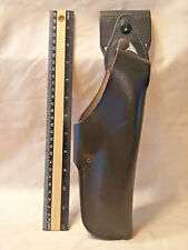 9mm NEW BLK Military Issue Adirondack Leather Shoulder Holster 1911 45Cal