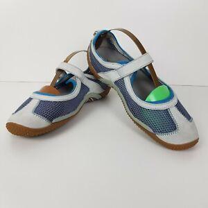 F1-Merrell-Womens-sz-UK5-Circuit-MJ-Breeze-Slip-on-Shoes-Sandals-Grey-Blue