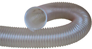 CHARNWOOD-CLEAR-FLEXIBLE-WOOD-DUST-amp-CHIP-EXTRACTOR-HOSE