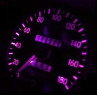 Dash Instrument Cluster Gauges Pink Leds Lights Kit Fits 98-01 Nissan Pathfinder