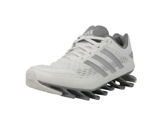 d55a8914528c ADIDAS Springblade Razor White Dark Gray Running Sneakers Youth Kid Junior  Shoes