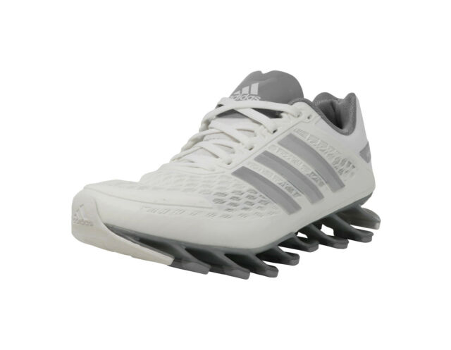 36ebf7dbfd87 ADIDAS Springblade Razor White Dark Gray Running Sneakers Youth Kid Junior  Shoes
