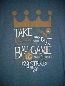 Details about MLB Kansas City Royals Baseball Adult XL T-Shirt