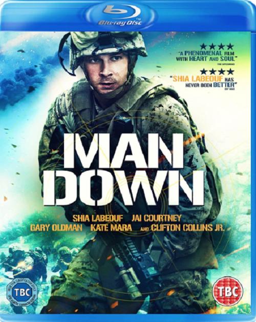 Man Down (Shia LaBeouf Jai Courtney Gary Oldman) New Region B Blu-ray