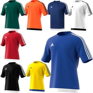 New Adidas Football Sports T Shirt Clothing, Shoes & Accessories Activewear Tops