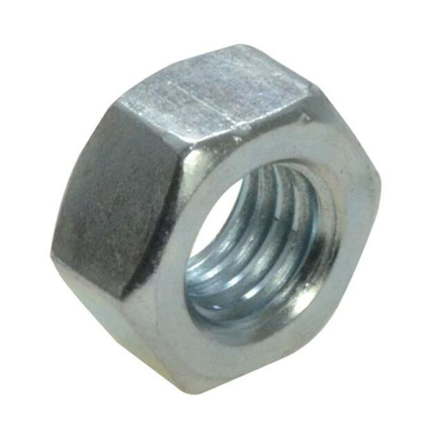 Qty 5 Hex Standard Nut M6 (6mm) Zinc Plated High Tensile Class 8 Full ZP