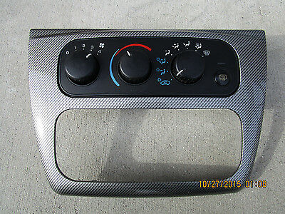 01-06 DODGE STRATUS CHRYSLER SEBRING A//C HEATER CLIMATE CONTROL 04596277AB