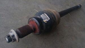 Gmc Sierra Denali 1500 Quadrasteer Rear Cv Axle Half Shaft 6 Lug Only Ebay