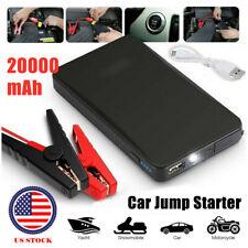 Jump Starter 20000mah Car Battery Pack 12v Auto Battery Charger Booster Jumper