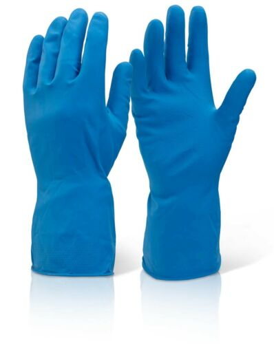 1-144 Pairs Household Rubber Latex Long Sleeve Gloves Washing Up Dishes Cleaning