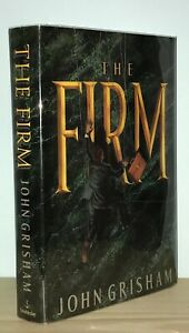 John-Grisham-The-Firm-1st-1st-Basis-for-the-Film-Authors-Second-Novel-NR