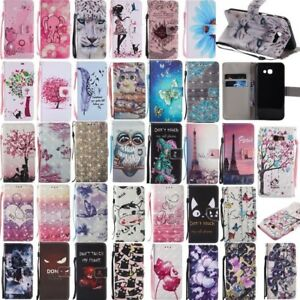 For-Samsung-Galaxy-A3-A5-2017-Flip-Wallet-Leather-Magnetic-Card-Stand-Case-Cover