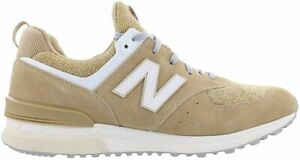 Original Mens New Balance 574S Brown Trainers MS574BS