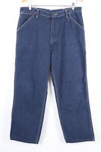 Vintage-Sears-Roebucks-Denim-Carpenter-Maler-Arbeit-Jeans-Herren-Groesse-36-30