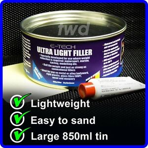 how to use body filler to repair dents