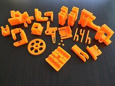 Reprap Prusa i3 Rework Printed Parts KIT HIGH QUALITY ORANGE for 3D Printer